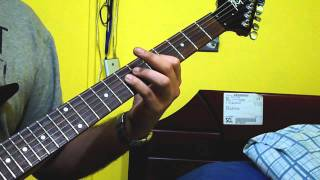 "getlinkyoutube.com-How to play / como tocar ... ""The Raising Fighting Spirit""  en guitarra electrica"