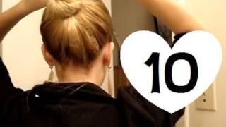 getlinkyoutube.com-10 Easy, Quick Everyday Hairstyles for long hair & hairstyles for medium hair