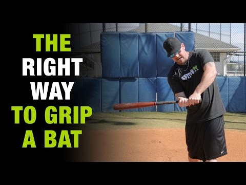 How To Grip The Baseball Bat The Right Way And Never Get Jammed Again!  [How To Tuesday Ep.1]