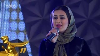 getlinkyoutube.com-Afghan Star Season 11 - Top 5 Elimination - Ziba Hamidi / فصل یازدهم ستاره افغان - زیبا حمیدی