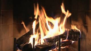 getlinkyoutube.com-♥♥ The Best Fireplace Video (4 hours) HD 1080p with relaxing soft rain MUST SEE!