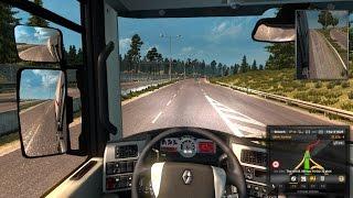 getlinkyoutube.com-Mô phỏng Lái xe tải bằng G29 + Euro Truck Simulator 2
