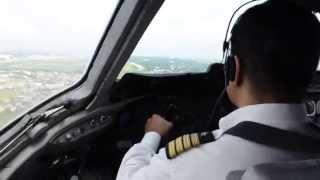 Biman DC 10 landing