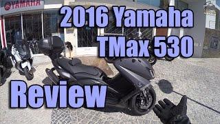 getlinkyoutube.com-2016 Yamaha TMax 530 Review and Testride