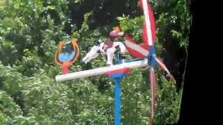 getlinkyoutube.com-Veletas molinos de viento Whirligigs hechos a mano