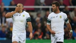 South Africa v Scotland - Match Video Highlights - Rugby World Cup 2015