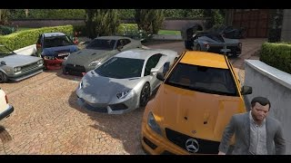 getlinkyoutube.com-GTA 5 Real Car Mods - My Car Collection