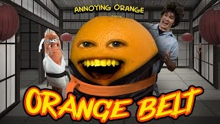 getlinkyoutube.com-Annoying Orange HFA - ORANGE BELT (ft. Tobuscus & Billy Dee Williams)