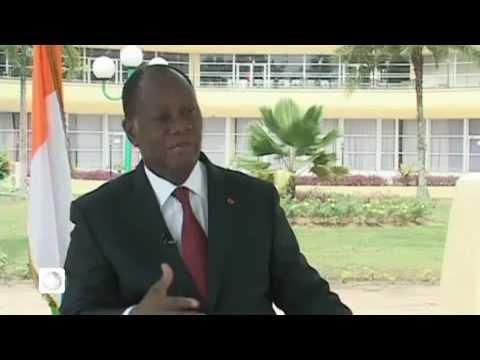 Entretien avec le Président Alassane Ouattara sur TV5 Abidjan.mp4