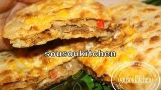getlinkyoutube.com-Meloui farci à la viande hachée/Meloui with ground beef