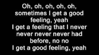 getlinkyoutube.com-Flo Rida - Good Feeling(Lyrics on screen)