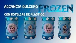 getlinkyoutube.com-COMO HACER DULCERO ALCANCIA  CON BOTELLAS DE PLASTICO