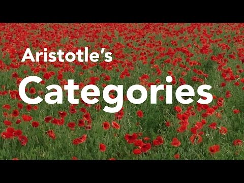 Aristotle's Categories
