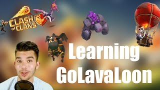 getlinkyoutube.com-CLASH OF CLANS: Learning GoLavaLoon ✭ Let's Play Clash of Clans [Deutsch/German HD]