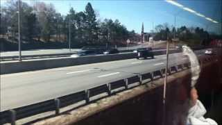 getlinkyoutube.com-MBTA Commuter Rail Ride: Back Bay to Framingham