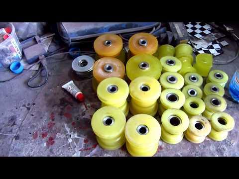 Сколько стоит вся подвеска в полиуретане на 166 Альфа Ромео
