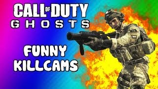 getlinkyoutube.com-COD Ghosts Funny Killcams - Log Kill, Riot Shield Trap, Slide Shot, Wall Bang (Trolling / Funtage)