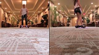 getlinkyoutube.com-10 inch vs 7 inch (Terrain Test) Self Balancing Scooter, Mini Segway Hoverboard🇵🇭🇨🇦