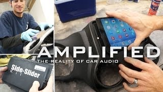 getlinkyoutube.com-iPad mini Side-Slider Kit installed into a Jeep Wrangler - Amplified #134