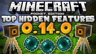 getlinkyoutube.com-TOP HIDDEN FEATURES in  MCPE 0.14.0!!! - Secret Changes - Minecraft PE (Pocket Edition)