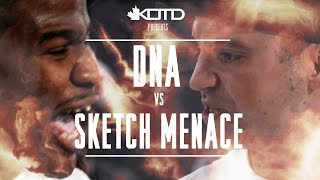 KOTD - Rap Battle - DNA vs Sketch Menace
