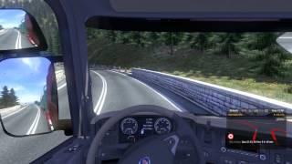 getlinkyoutube.com-Euro truck simulator 2 serra de Zurich