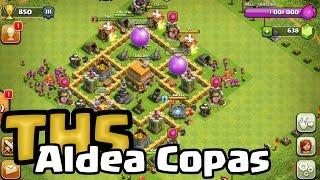 Aldea de Copas TH5   Clash of Clans