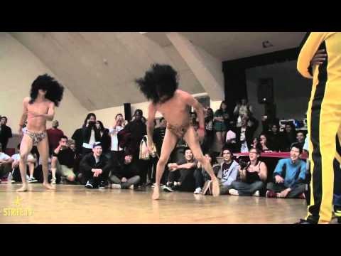 DANCE BATTLE! | the Bucho Bros. vs Lionz of Zion | strife.tv