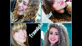 História do meu cabelo / Transição Capilar - do Liso ao Cabelo Cacheado
