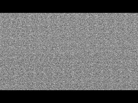 TV static noise HD 1080p -h9Rl0A60qq4