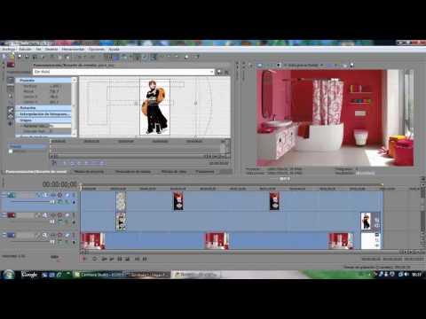 Tutorial Sony Vegas (mover imagenes, usar mascada, cortar y poner camara rapida a los videos)