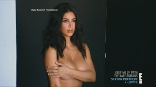 Kim Kardashian Takes it All Off for Season Premiere | World News Tonight | ABC News