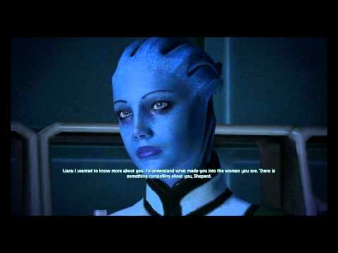Mass Effect - Liara Female Romance (Complete scenes and dialogues in 1080p)