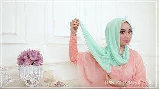 getlinkyoutube.com-Tutorial Hijab | 1 Shawl Haicon 3 Style Cantik by NINA Noura