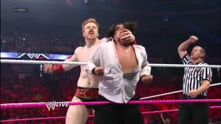 Sheamus, Rey Mysterio & Sin Cara vs. Alberto Del Rio, David Otunga & Ricardo Rodiguez: Raw, Sept. 24