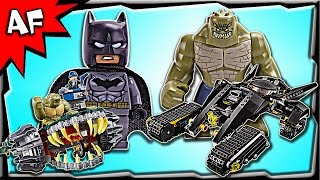 getlinkyoutube.com-Lego Batman KILLER CROC Sewer Smash 76055 Stop Motion Build Review