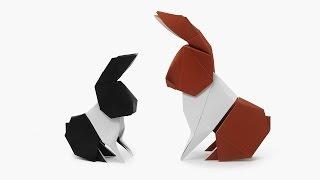 getlinkyoutube.com-Origami Dollar Bill Hare (Barth Dunkan)