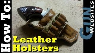 getlinkyoutube.com-Making Leather Holsters EASY