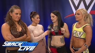 The Riott Squad introduce themselves: SmackDown LIVE, Nov. 28, 2017