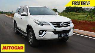 getlinkyoutube.com-Toyota Fortuner   First Drive   Autocar India