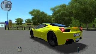 getlinkyoutube.com-City Car Driving 1.5.0 Ferrari 458 Italia TrackIR 4 Pro [1080P]