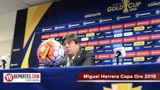 Miguel Herrera explica porque no hubo mas goles contra Cuba en la Copa Oro