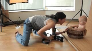 getlinkyoutube.com-Tamron How-To Baby Photography: A Studio Shoot