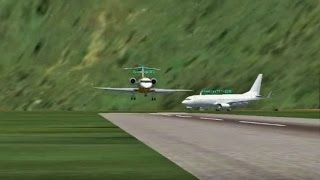 getlinkyoutube.com-FSX Multiplayer Best Landing Competition at Glitched Airport in a Hole! (SVAS)