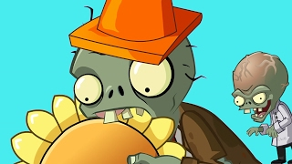 getlinkyoutube.com-Plants Vs Zombies Cartoon Animation 3D Funny Collection!