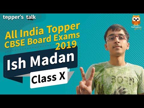 Topper Talk | All India CBSE 2019 Topper | Ish Madan - Success Tips