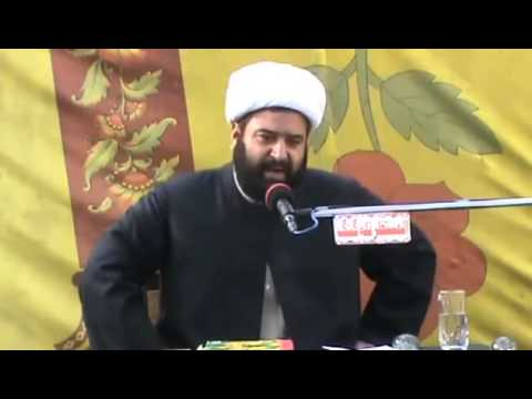 Alama Aagha Intezar Jafri at Talagang on 17th Rabi ul Awal Part 3