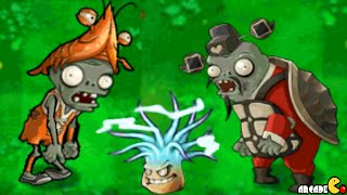 getlinkyoutube.com-Plants Vs Zombies - New World The Sea Dragon King New Zombies!