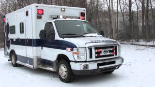 2008 ford e450 type iii ambulance by horton