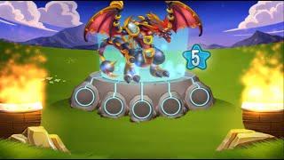 getlinkyoutube.com-Dragon City l El Mundo Ancestral l Piercing, rey de los escorpiones l Niveles